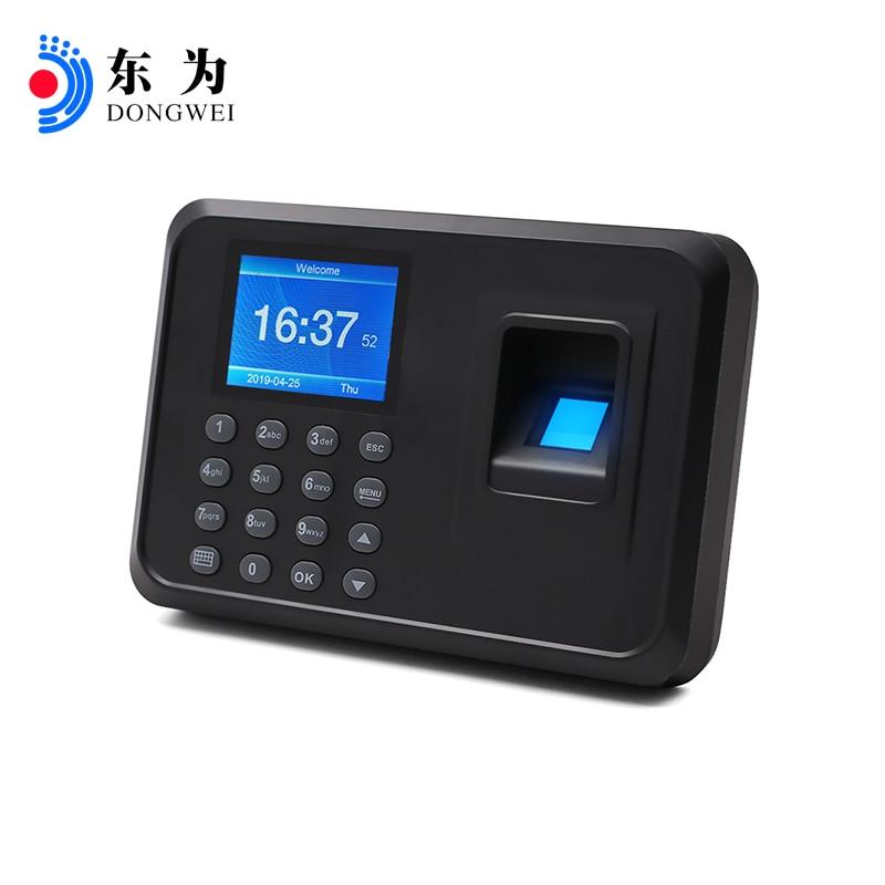 Biometric Fingerprint Time Attendance Clock Recorder Employee Recognition Device