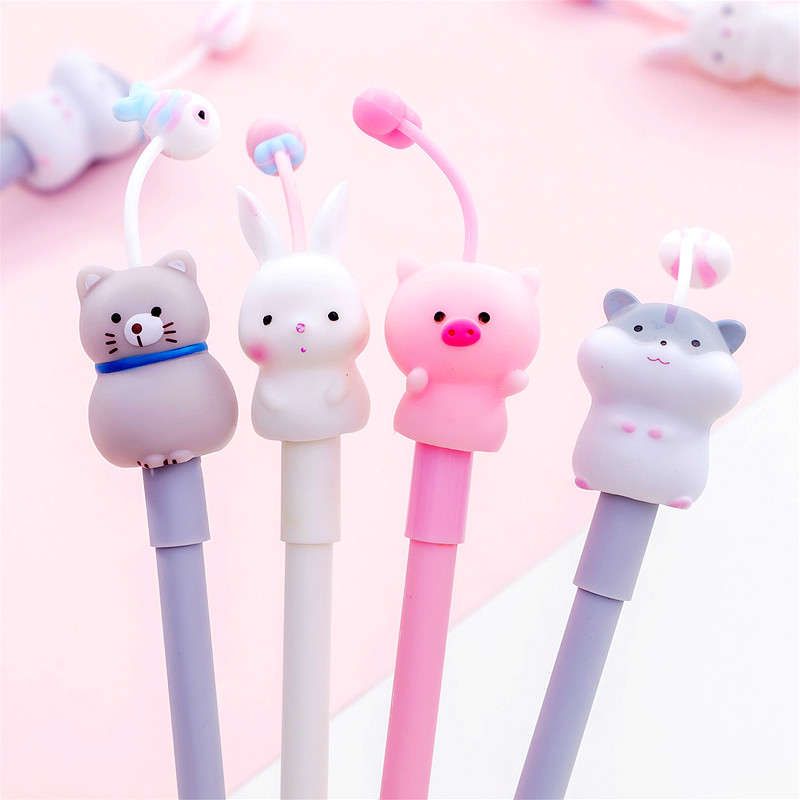 Ballpoint Pen Stationery Writing-Handle-Pen Animal School Hot-Sale 1pcs Student Escolar title=