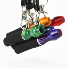 Hookah Mouthpiece Shisha Water-Pipe Chicha Narguile Silicon Reusable Strap Resin