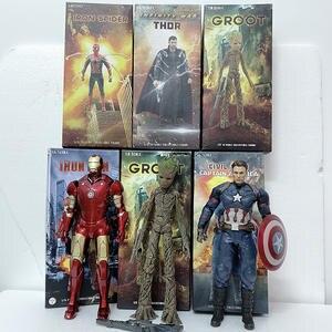 """CRAZY GIOCATTOLI Marvel Super Eroe Avengers Iron Man MK45 12/"""" Figura 1//6TH Statua Regalo"""
