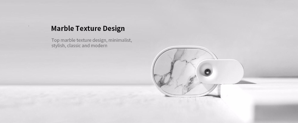 Xiaomi Sothing Desktop humidifier Ultrasound mute USB charge 260ML Transparent Tank Two humidification modes Desktop Diffuser (2)