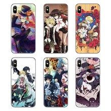 Силиконовый чехол для Samsung Galaxy A5 A6 A7 A8 A9 J4 J5 J7 J8 Plus Prime Pandora Hearts Anime alice and oz hugging(Китай)