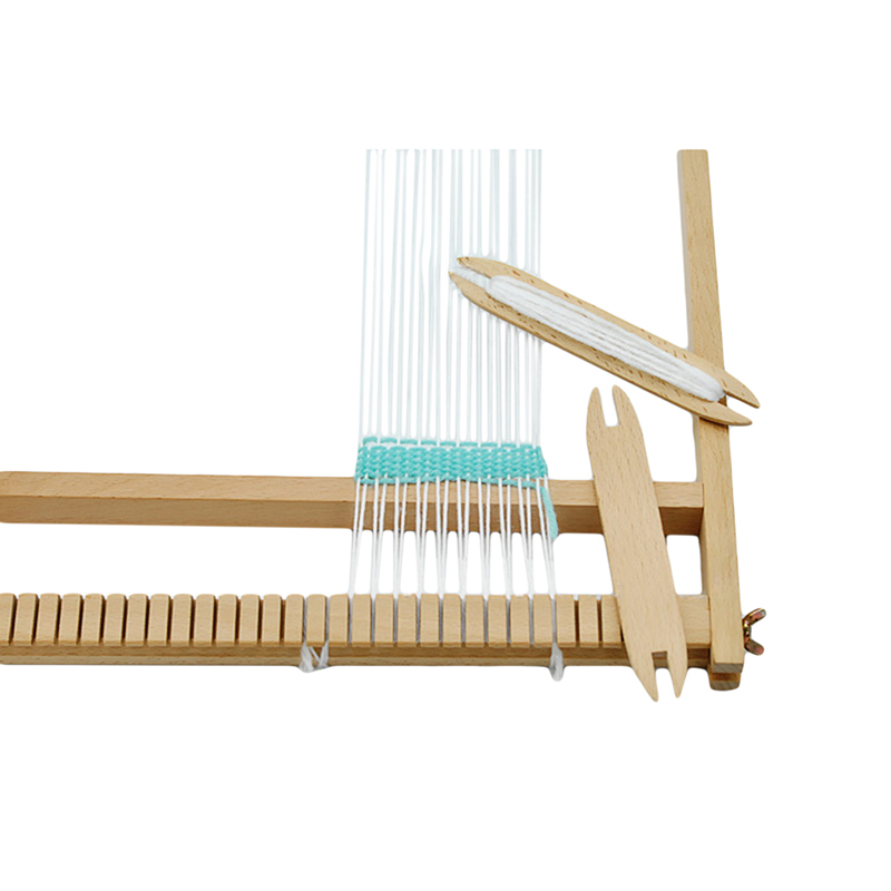 Scarf Loom-Tools Weaving-Tool Sweater Bobbin-Stick Solid-Shuttle-Rod Household Woodiness title=