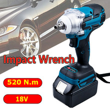 For Makita 18V Battery Impact Wrench Power Tools Herramientas Electricas Impact Wrench
