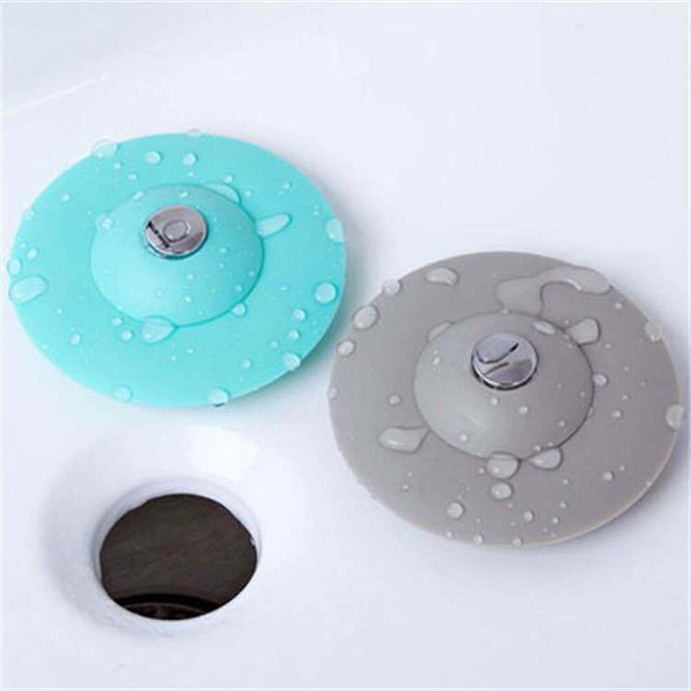 Bouchon évacuation pour évier ou baignoire silicone