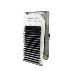 Норковые ресницы для макияжа NAGARAKU, 5 чехлов в партии, 7-15 мм, смешанные Индивидуальные ресницы, натуральные мягкие, высококачественные Искусс...