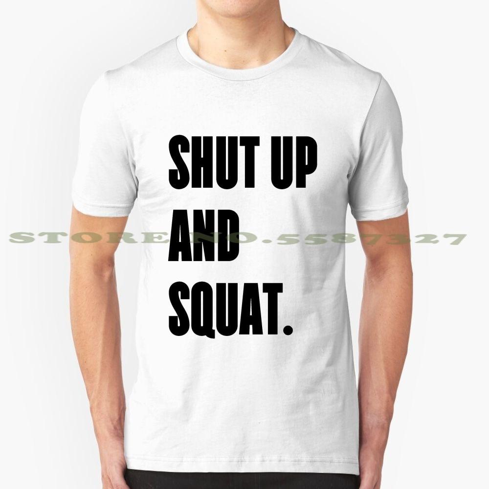 Shut up and squat à dos nageur gym débardeur tank top entraînement fitness yoga training