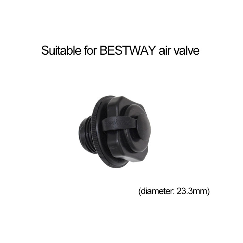 22mm Inflatable Boat Air Valve Screw Boat Air Bed Mattress Inflatable Accessory