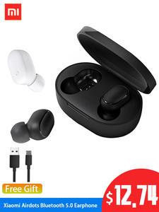 Xiaomi Earphone Ai-Control Handsfree Earbuds Bluetooth In-Ear Airdots Wireless Stereo