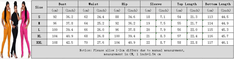 A110109 new style short sleeve drawstring trouser solid Outfit 2 Piece Set Women Clothing