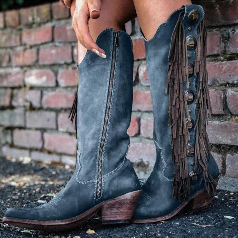 Women Mid-calf Boots Women