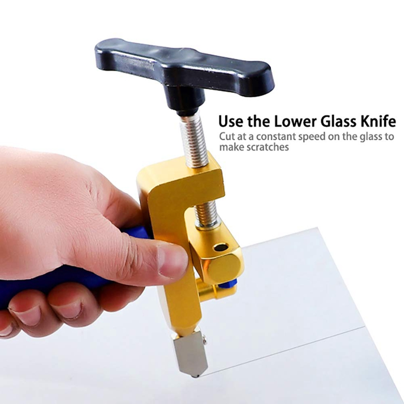 Ceramic Tile Glass Cutting One-Piece Cutter Portable Multifunctional Tool 2-In-1 Multifunctional Hand Tool