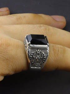 Mens Rings Engraved ...