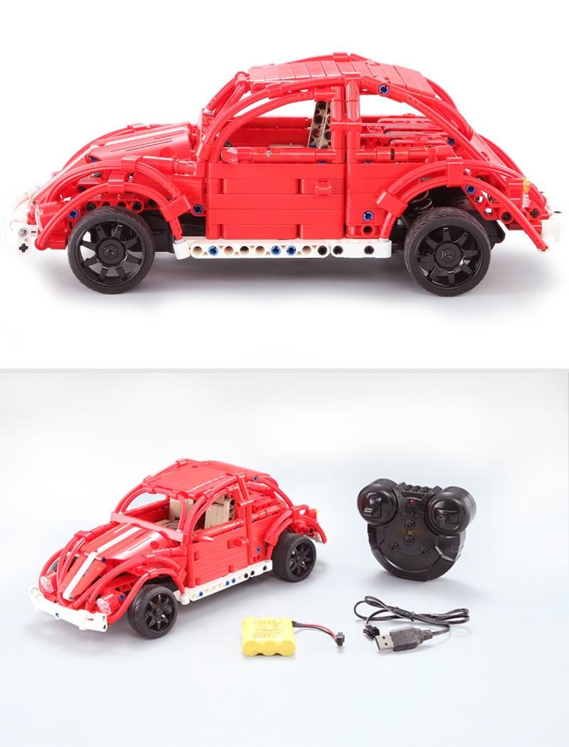 CaDA C51016 Red Beetles RC Building Block 55