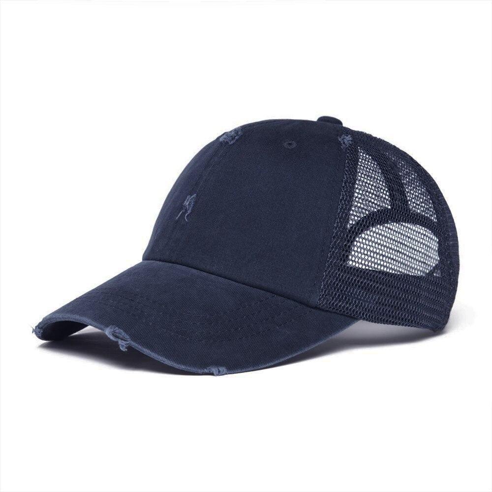 VOBOOM Men/'s Trucker Baseball Cap Distressed Outdoor Sports Snapback