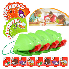 Be Quick To Lick Funny Desktop Game Chameleon Lizard Mask Wagging Tongue Lick Cards Board