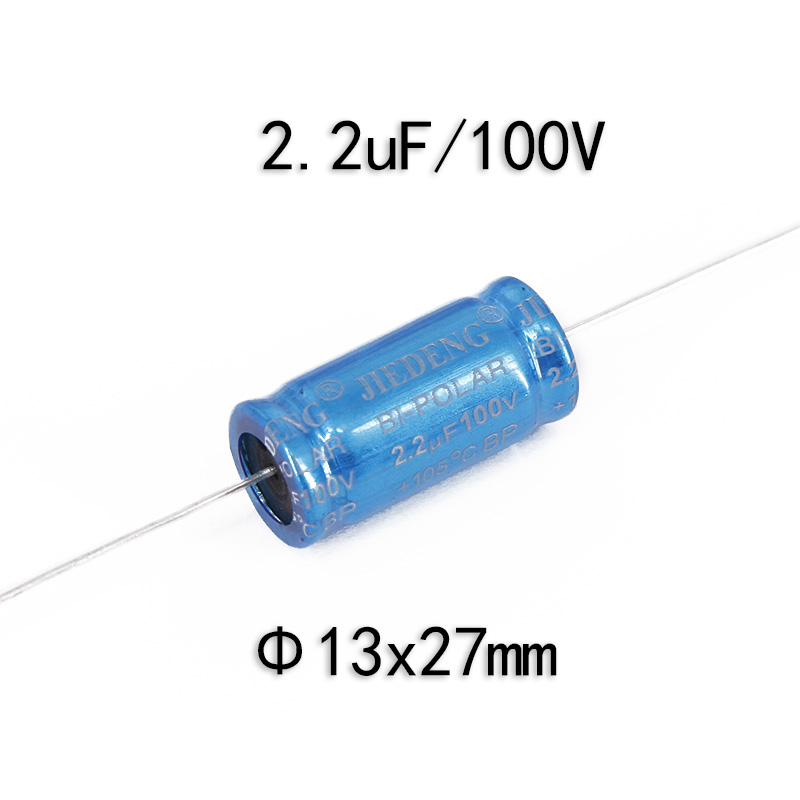 Electrolytic Capacitor 2 x 2.2 uF x 100 V by Chenxing VENT