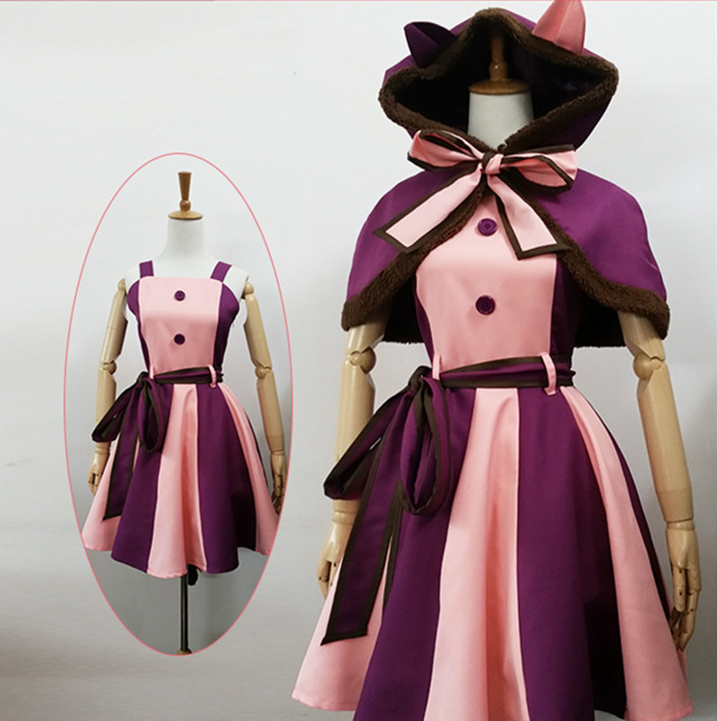 Kids Girls Alice In Wonderland Cheshire Cat Dresses Cosplay Costume Christmas Fancy Dress