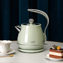 Coffee-Pot Electric-Kettle Water-Boiler Travel Retro 1500w 220v Portable 304-Stainless-Steel