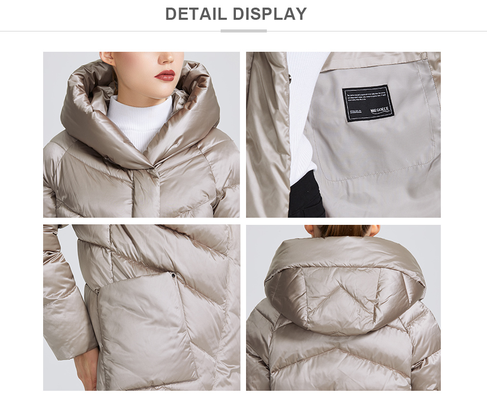 MIEGOFCE 19 Winter Jacket Women's Collection Warm Jacket With Unusual Design and Colors Winter Coats Gives Charm and Elegance 2