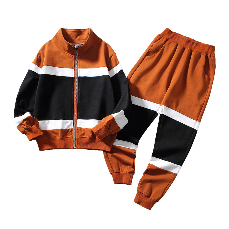 Fashion 2020 Kids Clothing Sets For Teen Boys Sport Suits Teenagers 6 8 10 12 13 To 15 Years Children 2 Pcs Set Outfits Clothes