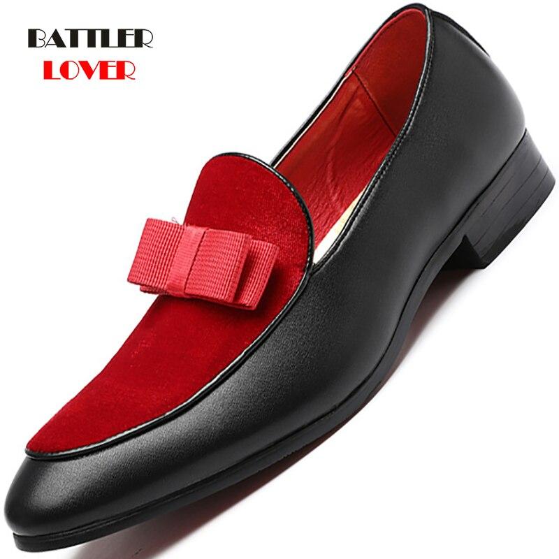 Loafers Men Dress Shoes Leather Coiffeur Wedding Shoes Men Formal Brand Italian Shoes Men