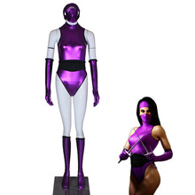 Halloween-Costumes Kombat Mileena Cosplay Sexy Purple Women for Mortal 2-Version