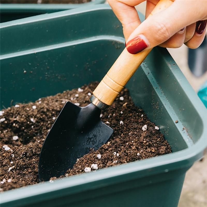 jardiner/ía para plantar flores herramientas de mano Tao Hua Yuan Pala de jardiner/ía de acero al carbono jardiner/ía