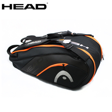 Tennis-Bag Tenis HEAD Badminton Padel Raquete Large-Capacity 6-9 Original