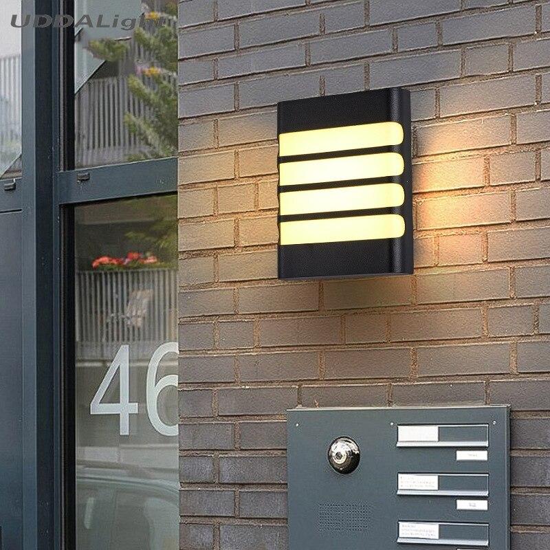 High Quality Aluminum wall light outdoor IP65 garden porch exterieur outdoor lighting
