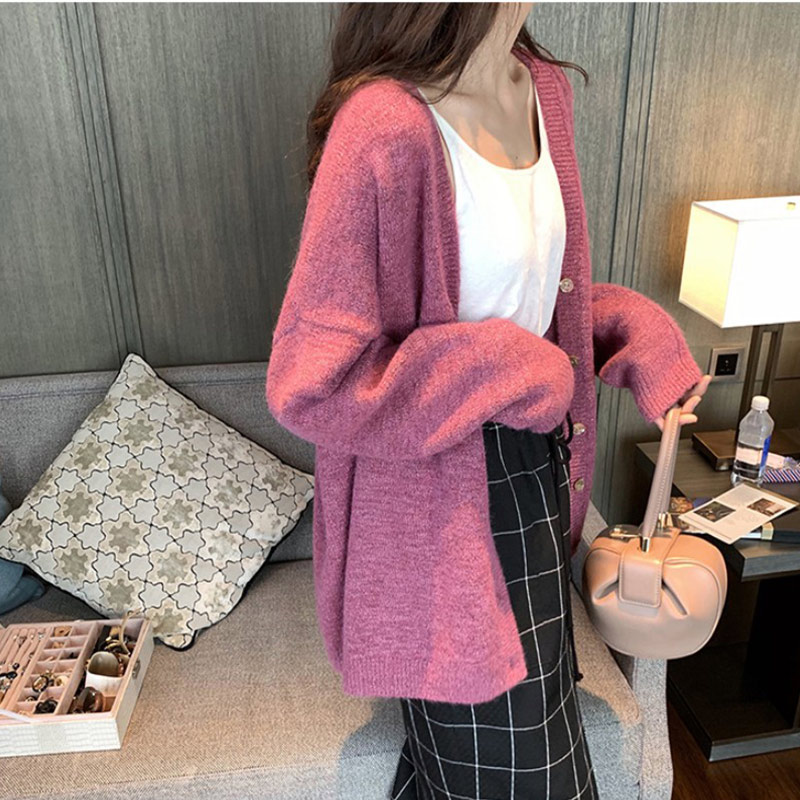 Mode Damen Sommer Pullover Shirt Cardigan Sweater Herbst Sweatshirt Strickjacke·