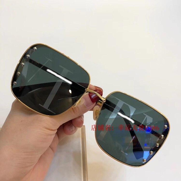 2019 luxury Runway okulary przeciwsłoneczne damskie marka projektant okulary przeciwsłoneczne dla kobiet Carter okulary B07312 -