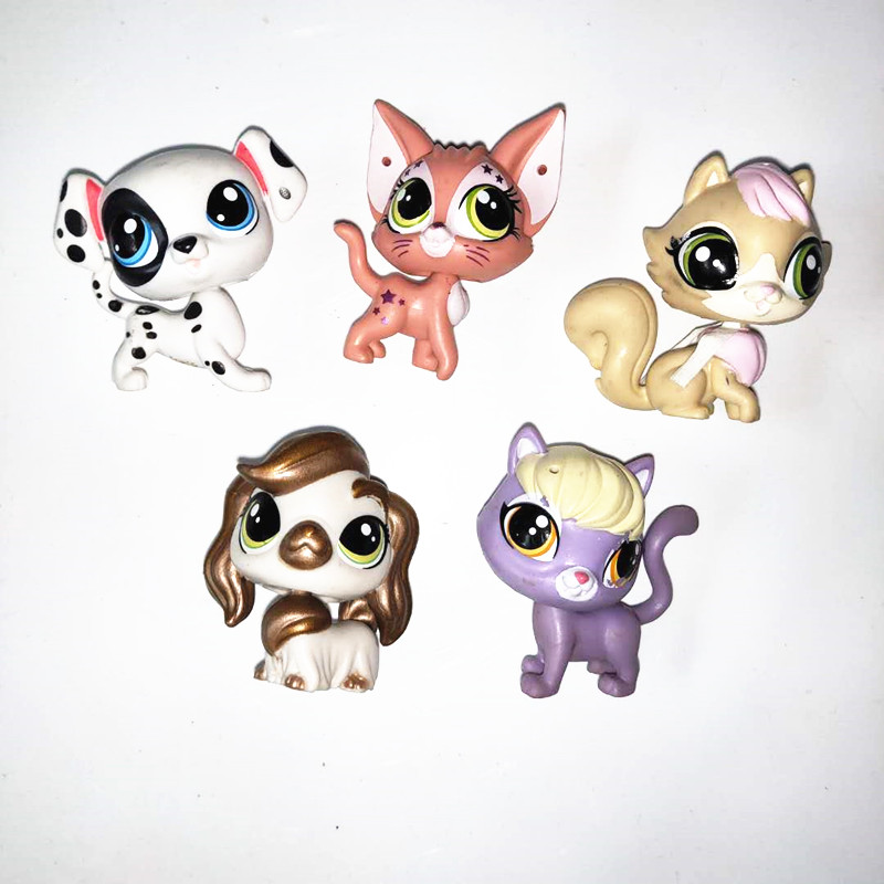 Figurine AMERICAN SHORT AIR Puppy and Kitty in my Pocket sa carte