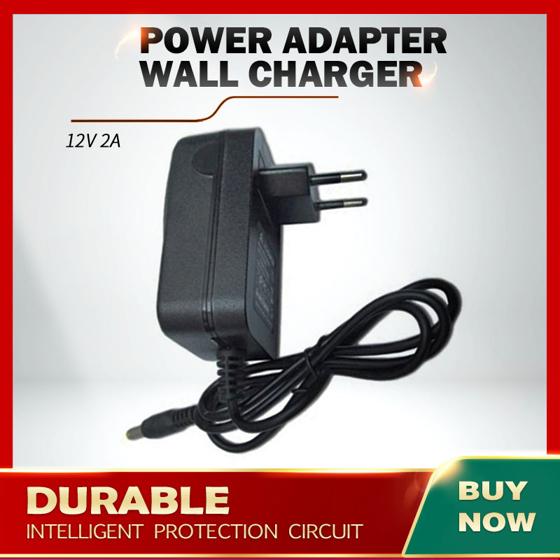 12V 2A AC DC Power Adapter Wall Charger For CHUWI Lapbook SE 13.3 Inch Ultra Notebook title=