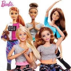 Оригинальные Барби Марка American Girl Куклы 6 Стиль Йоги Gymnas суставов Движения Игрушки Для Детей Девушки Подарок На день рождения куклы игрушки б...