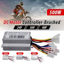 Brushed Motor-Controller-Regulator E-Bike-Scooter Electric Bicycle Xiaomi 500W DC