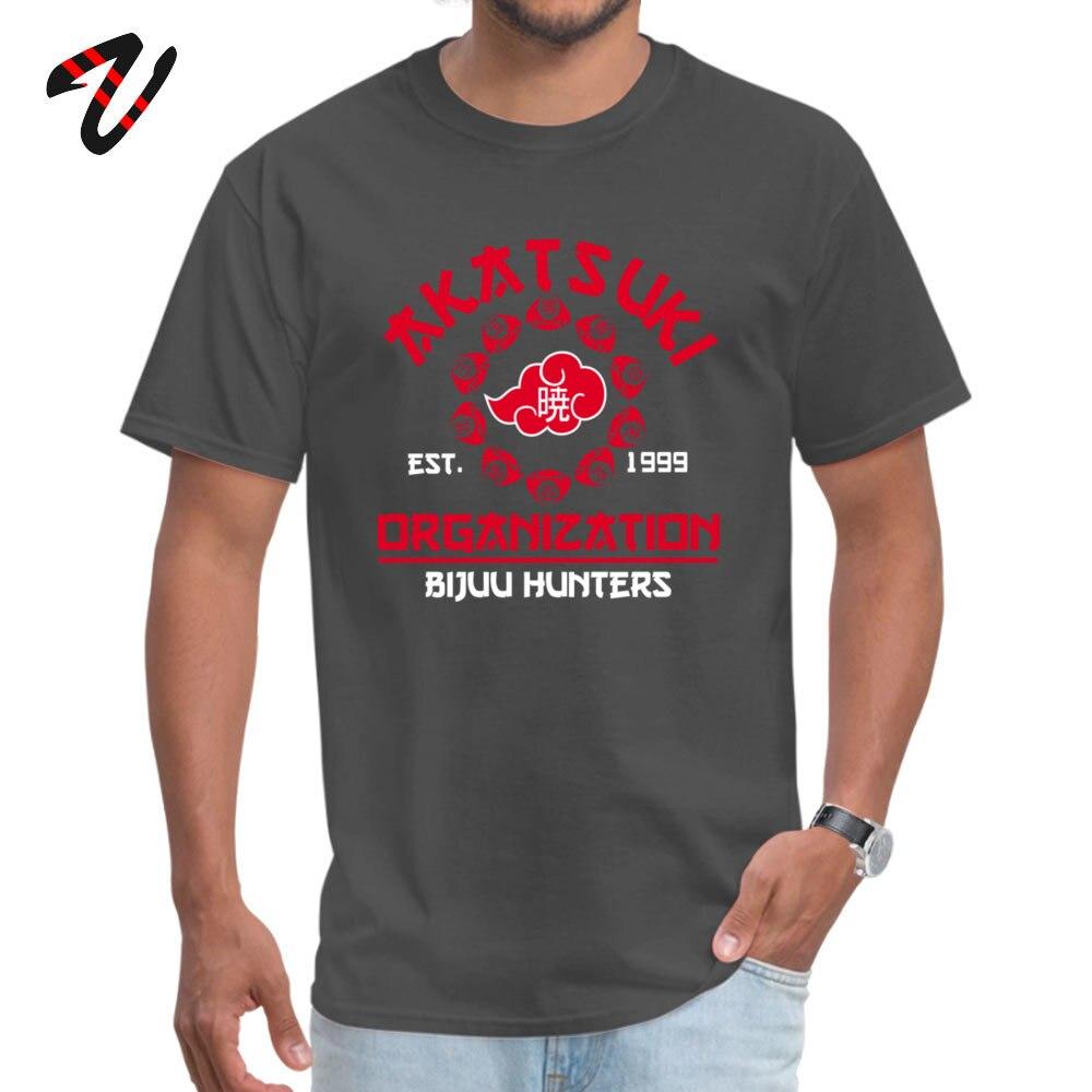 Fashionable Men's T Shirt Akatsuki_org_ Comics Top T-shirts All Cotton Short Sleeve Printing Tee-Shirts Crewneck Akatsuki_org_1647 carbon
