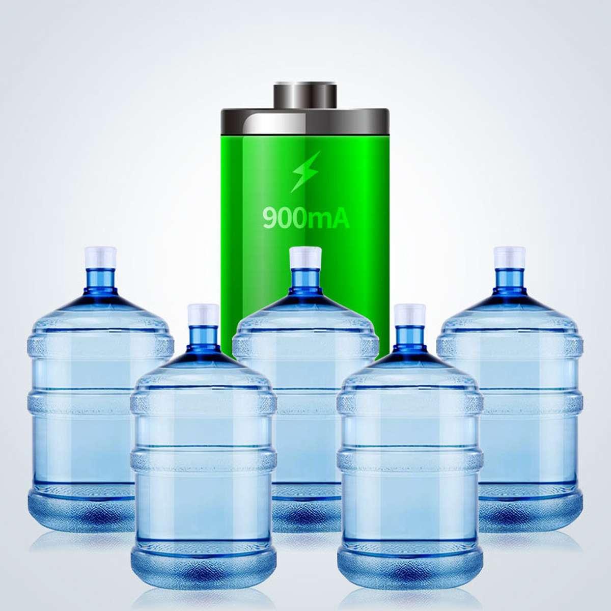 Ymiko Pompa USB Portatile per Acqua Potabile con distributore Automatico di Acqua con Controllo del Volume per Bottiglia da 5 galloni