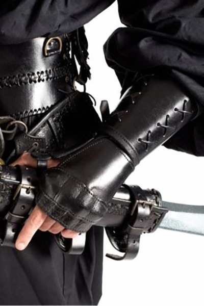 Leather Armor IN STOCK Reverse Clamshell Gauntlet