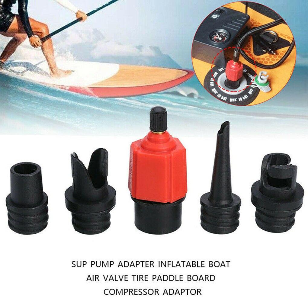 Sup-Pump Adapter Schlauchboot Luftventil Reifen Paddle Board Adapter Kompressor