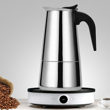 Moka Pot Espresso-Maker Percolator-Stove Coffee-Tools Brewer Stainless-Steel Geyser Latte
