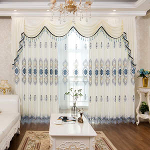 SEmbroidery Curtain B...