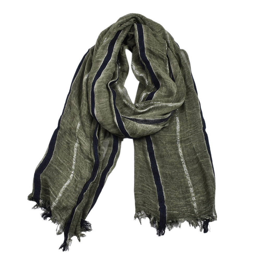 Winter Scarf Autumn Spring Male Casual Scarves Mens 19095Cm Warm Soft Stripes Scarves Men Accessory