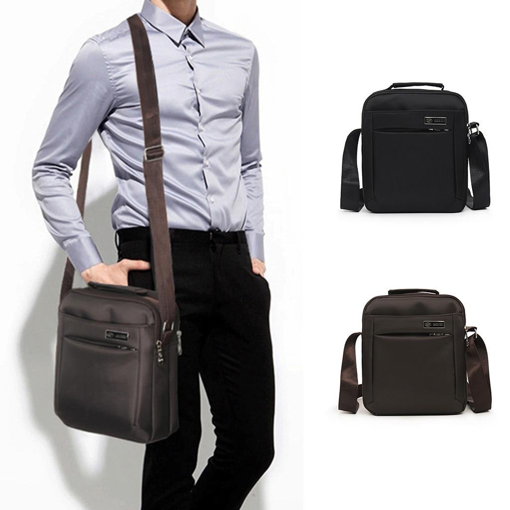 New Fashion Shoulder Bags For Men Messenger Bag High Quality Waterproof Oxford Business Travel Crossbody Bag 820