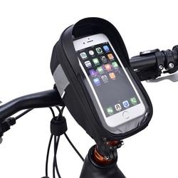 Roswheel Sahoo 112003 велосипедная трубка на руль, сумка для мобильного телефона, чехол-держатель, чехол для телефона 6,5 дюйма