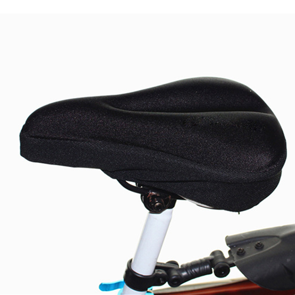 Cushion - Summer Bike Comfortable Cushion Cover Mountain Bike Thick 3D Seat Cover Outdoor Riding Accessories