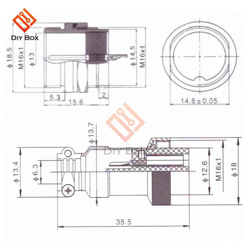 航空插头GX16规格书 (2)
