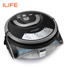 ILIFE Water-Tank Floor Washing Robot Cleaning-Route W400 Navigation New Planned Large
