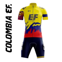 Suit Cycling-Jersey-Set Bicycle-Bib Colombia Shorts Mtb-Wear Bike Road-Race Maillot EF