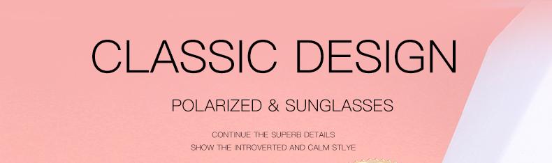 Women Sunglasses Frame Glasses Polariod Lens UV400 Polarized Sunglasses Women Fashion Round Frame Eyewear Glasses (1)